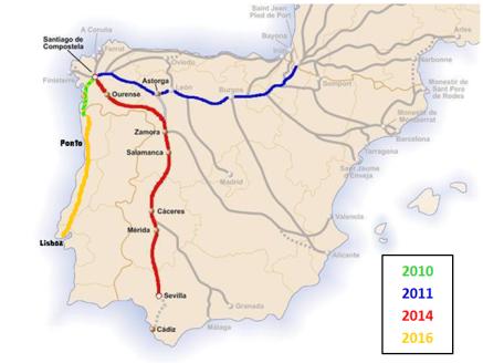 Mapa caminhos