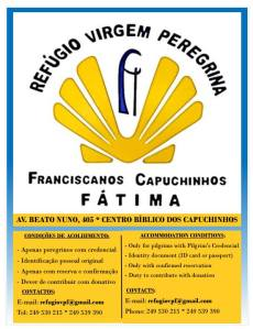 Refugio Capuchinhos Fátima