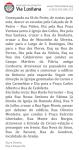Descrição Itinerário Sé do Porto - Araújo (Fonte: Via Lusitana)